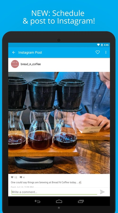 Hootsuite: Schedule Posts for Twitter & Instagram- screenshot