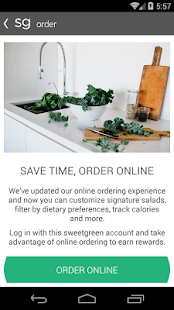 sweetgreen rewards- screenshot thumbnail