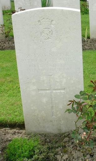 Patrick  Gallacher grave