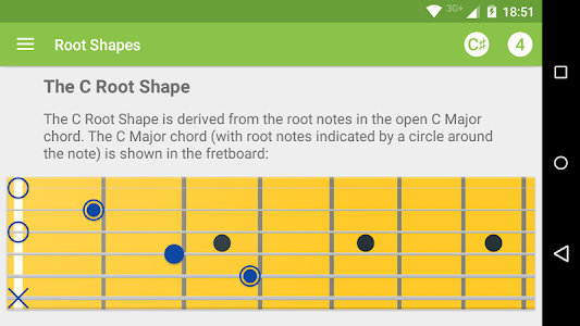 Guitar Notes Master screenshot 0