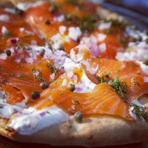 Salmon Pizza Recipe