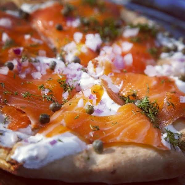 Salmon Pizza Recipe