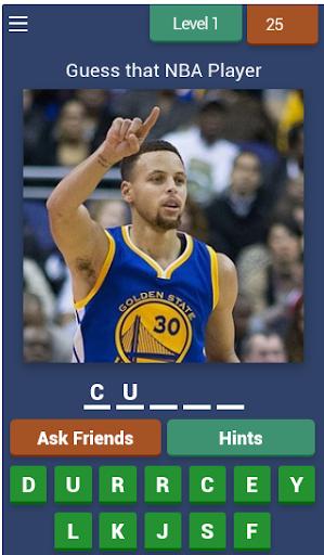 Guess that NBA player 7.4.3z screenshots 1