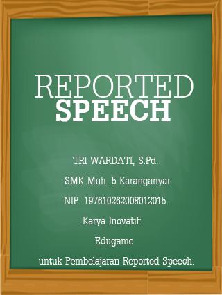 Reported Speech Quiz Indonesia