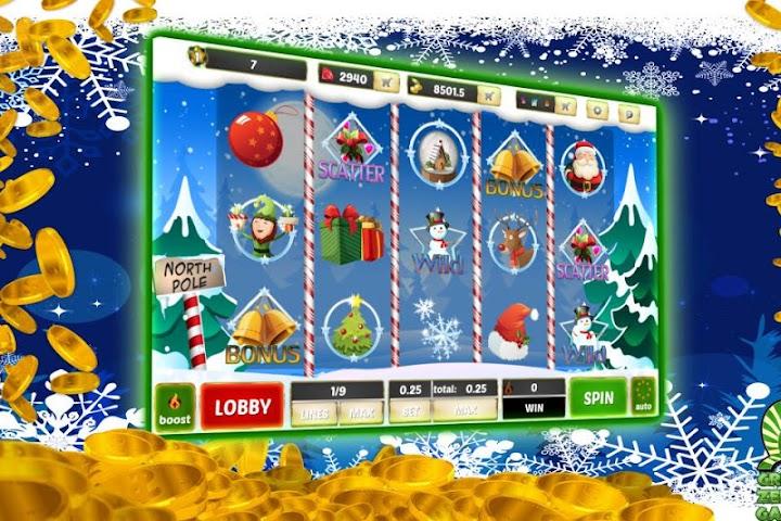 android Winter Wonderland Slots Screenshot 1