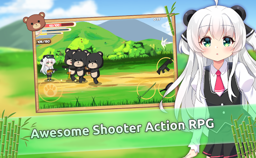 Pandaclip: The Black Thief - Action RPG Shooter apkpoly screenshots 4