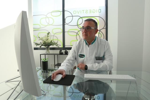 El Dr. Bravo Castillo, gerente del nuevo Espacio Gastrum.