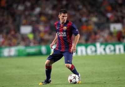 Messi décide s'il reste sur le terrain ou non