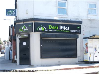 Desi Bites On Washwood Heath Road Restaurant Pakistani