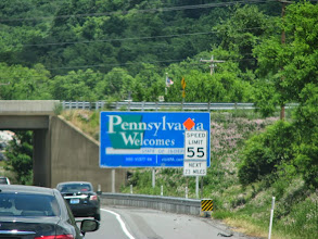 Photo: K8GP / Rover - Leaving MD entering PA