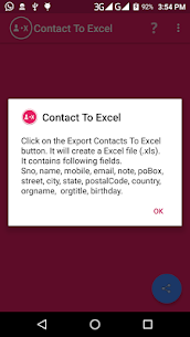 Contact To Excel 4