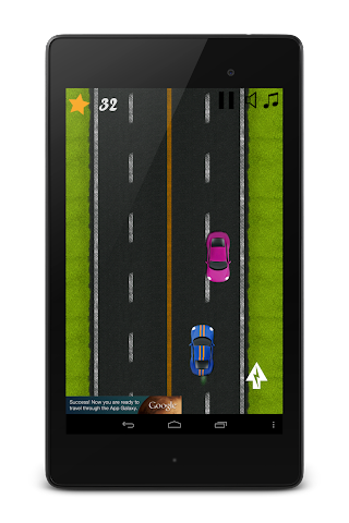 android Classic Highway Car Avoidance Screenshot 6