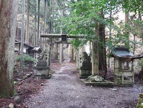 比婆神社の参拝口