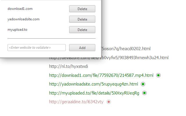 Download Link Checker