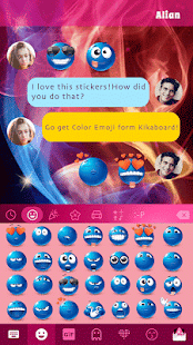 Color Emoji Stickers Screenshot