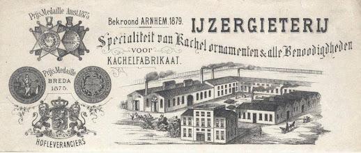 Photo: Etna ijzergieterij opgericht in 1856 door Cornelis Klep aan de Haagweg