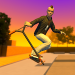 Street Lines: Scooter Icon