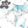 3D Particle Plexus Live Wallpaper icon