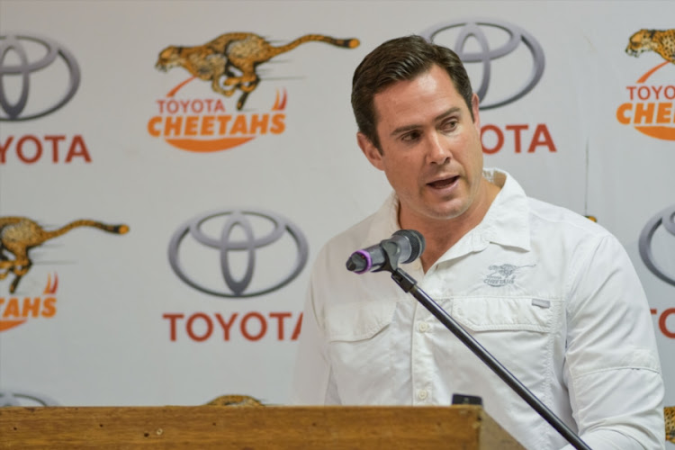 Rory Duncan (Head Coach) of Toyota Free State Cheetahs during the Toyota Free State Cheetahs Currie Cup season launch at Toyota Stadium on July 19, 2017 in Bloemfontein, South Africa.