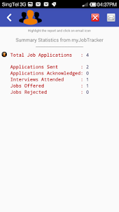 myJobTracker- screenshot thumbnail