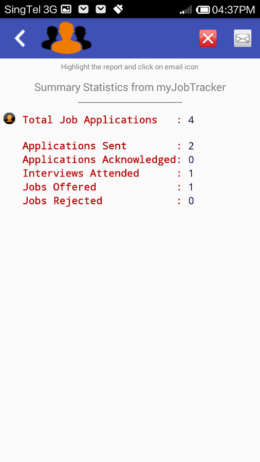 myJobTracker- screenshot
