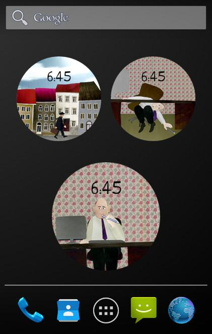 Mister Schmidt Watch Face- screenshot