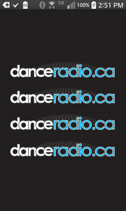 DanceRadio.ca- screenshot