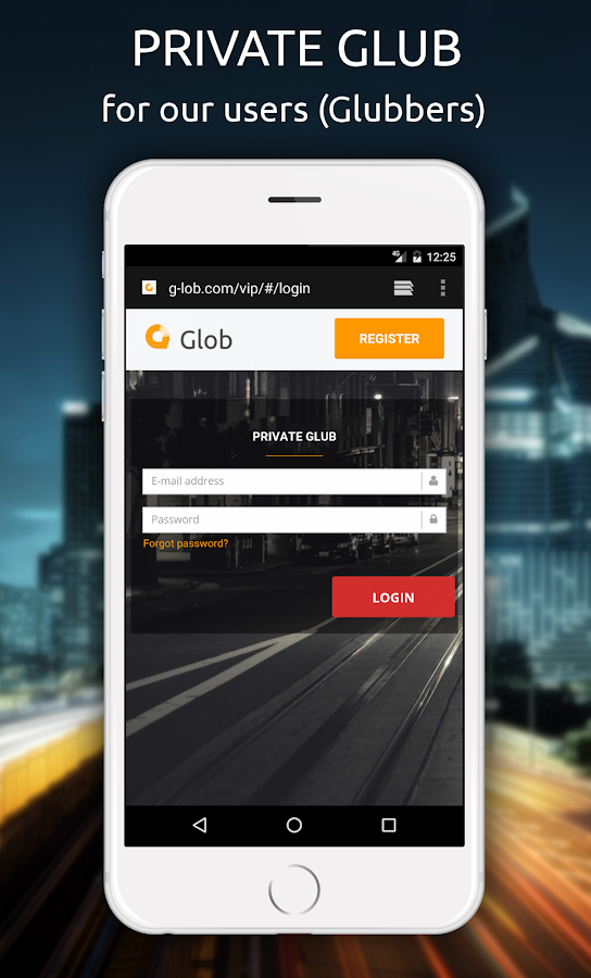 Glob - GPS, Traffic and radar- screenshot