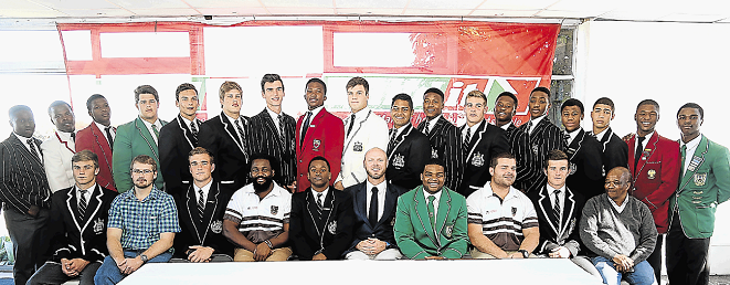 Players selected for the Border U18 Craven Week Academy side at Old Selbornians on Sunday.