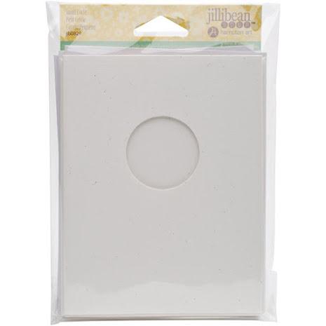 Jillibean Soup Shaker Cards/Envelopes 6/Pkg - Small Circle UTGÅENDE