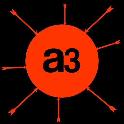 策略のA3 AARCHER™のRRのサークルフックアップ LOGO-記事Game