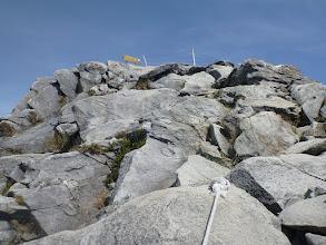 Photo: Poslední metry lezu po čtyřech