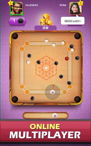Image result for Carrom board game – Carrom online multiplayer 18 APK (MOD, Unlimited Money)