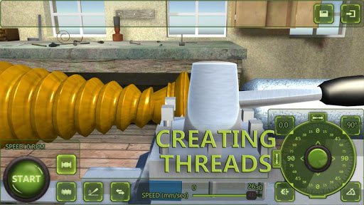Lathe Machine 3D: Milling & Turning Simulator Game  screenshots 4