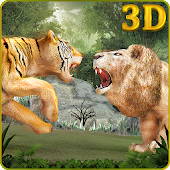 Wild Big Cats Fighting Challenge 2: Lion Vs Tigers Android APK Download Free By Animals Arena