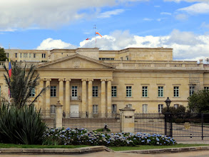 Photo: Bogotá - Casa de Nariño (presidential office)