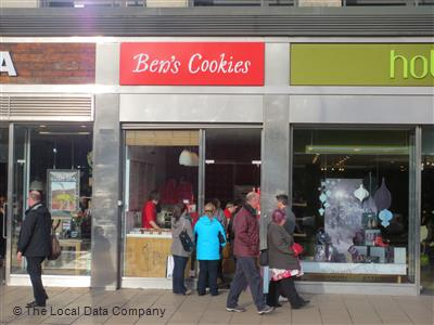 Bens Cookies On Princes Street Coffee Shops In New Town