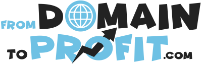 From Domain to Profit Logo