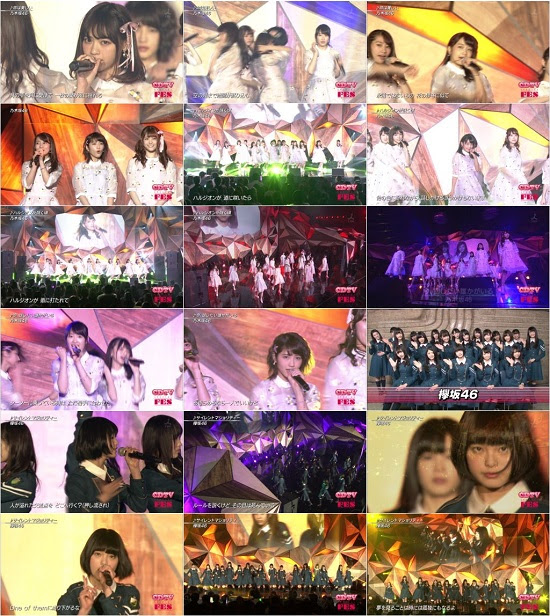 160326 (Nogizaka46 Keyakizaka46) 乃木坂46 欅坂46 - CDTV SP Fes.