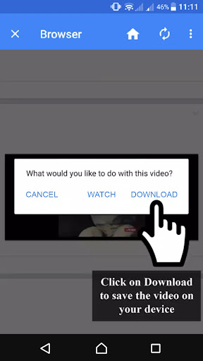 Video Downloader for Facebook and Instagram 2.7.1 screenshots 3
