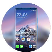 Theme for Phone XS mountain sea wallpaper icon
