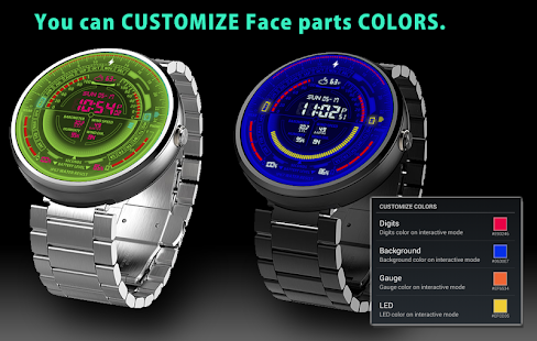 moto android watch. v09 watch face for moto 360- screenshot thumbnail android