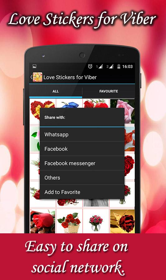 Love Stickers for Viber - Android Apps on Google Play
