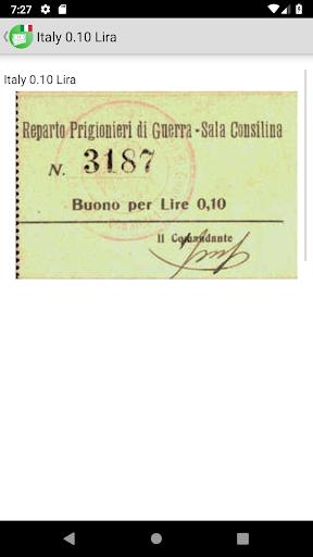 Banknotes of Italy screenshot 4