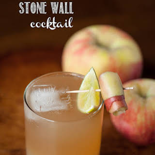 Apple Ginger Stone Wall Cocktail.
