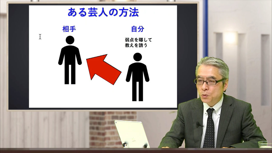 人, 室内, 男性, スーツ が含まれている画像  自動的に生成された説明