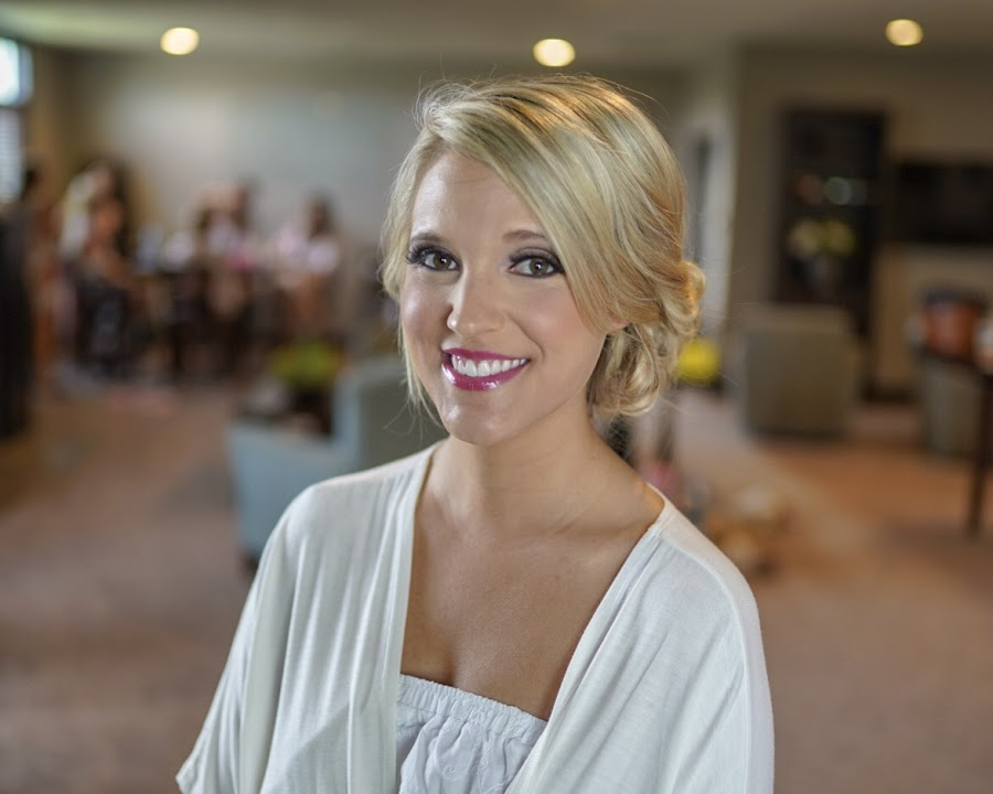 Almost ready by Cameron  Cleland - Wedding Getting Ready ( bride, makeup, blonde, wedding, summer )