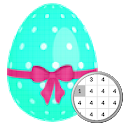 Easter Egg Coloring By Number-Pixel Art icon