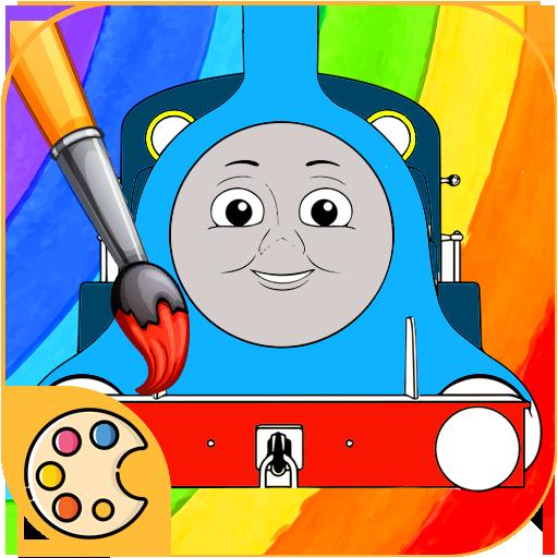 Colorear para Thomas trenes y sus amigos