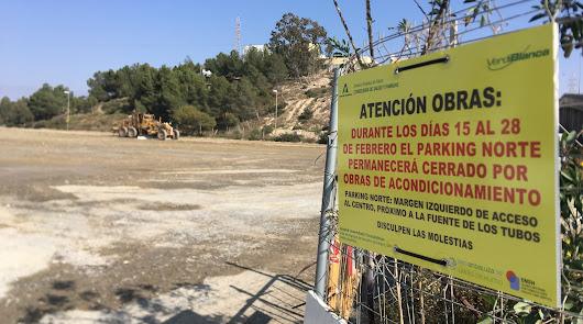 Comienzan las obras de mejora en el aparcamiento del Hospital Torrecárdenas
